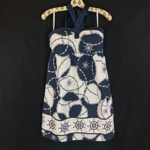 Vineyard Vines Out to Sea strapless  dress